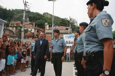 A UPP do São Carlos foi a 14ª a ser inaugurada