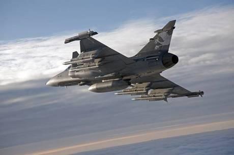 Em 2015, Brasil acertou a compra de 36 caças suecos Gripen NG