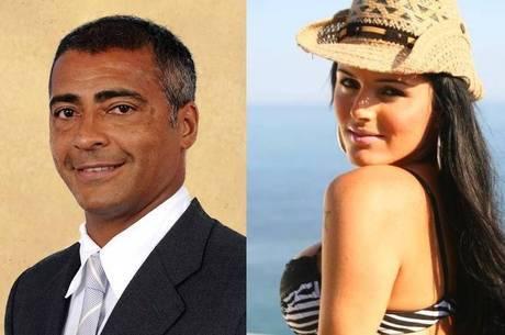 Romário e Thalita trocaram beijos em show, confirma a morena