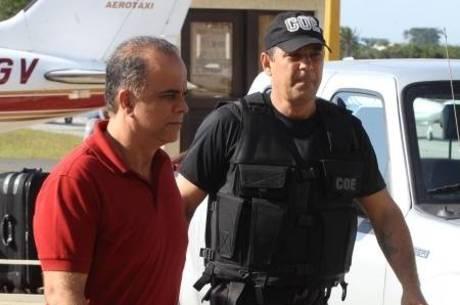 Marcos Valério cumpre pena em Brasília desde novembro de 2013