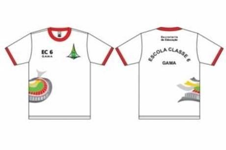 0119bf31fe567 Novo uniforme escolar do DF ganha imagem do Estádio Mané Garrincha ...