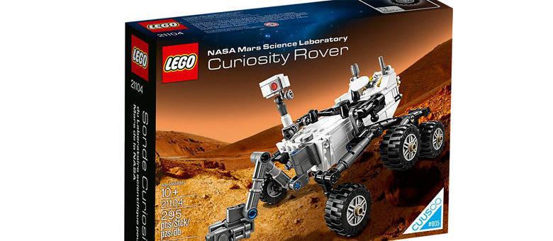 A partir de 2014: Kit Curiosity vai custar cerca de R$ 68 na Lego Shop