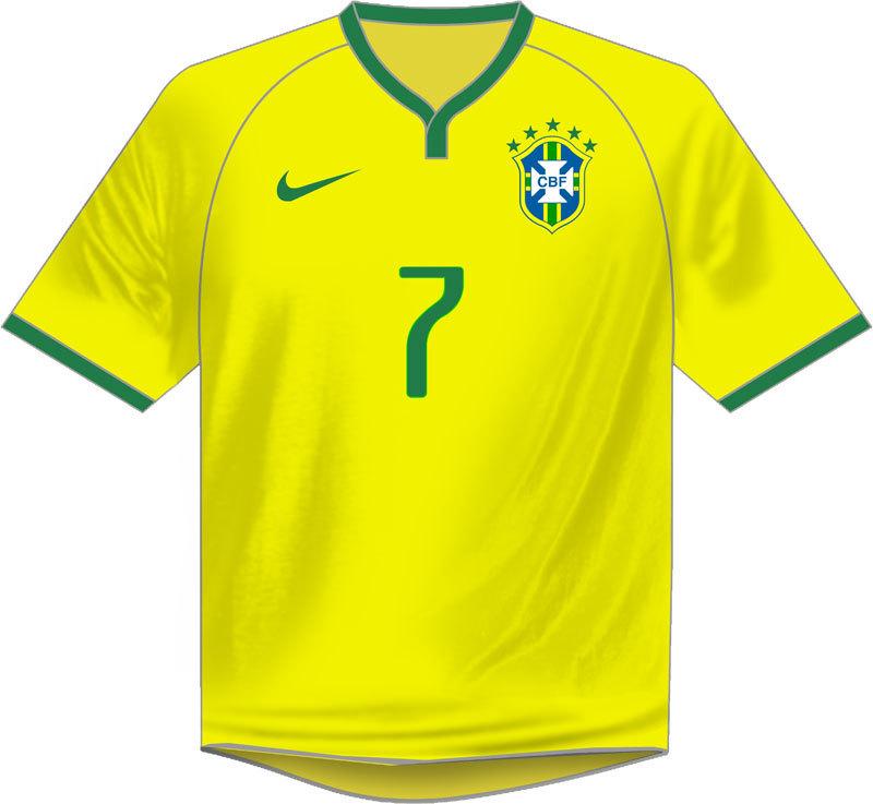Veja todas as camisas utilizadas pelo Brasil em Copas do Mundo - Fotos - R7  Copa 2018 c07f3542bf4c8