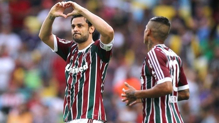 2014 - Cruzeiro 2 x 1 Fluminense, pelo Brasileiro - No ano em que disputou a Copa do Mundo pela seleção brasileira, Fred marcou um gol contra a Raposa em dezembro, seu décimo oitavo na competição tornando-se artilheiro da competição nacional.