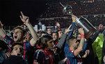 2014: San Lorenzo (campeão) x Nacional-PAR