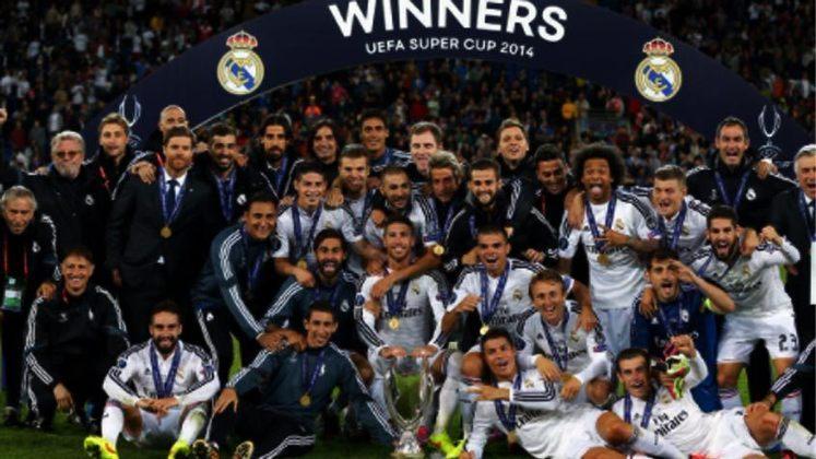 2014 - Sem grandes sustos o Real Madrid bateu o Sevilla por 2 a 0.