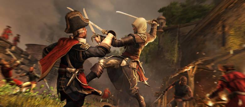Jogadores jogam como pirata Edward Kenway em Black Flag