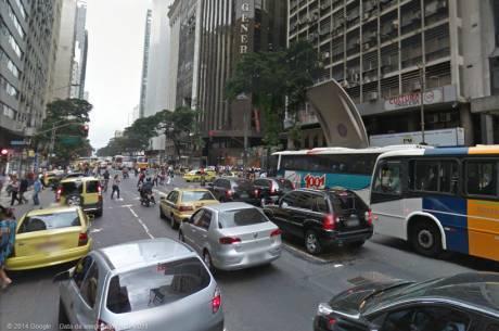 Avenida Rio Branco ganhará mão dupla exclusiva para táxis e ônibus