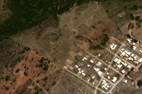 Ocupação irregular no Condomínio Sol Nascente, em Ceilândia, continua crescendo no DF