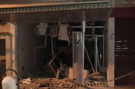 Assalto a banco causou uma morte em Minas