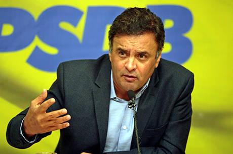 Aécio critica alta do preço dos alimentos durante o governo Dilma