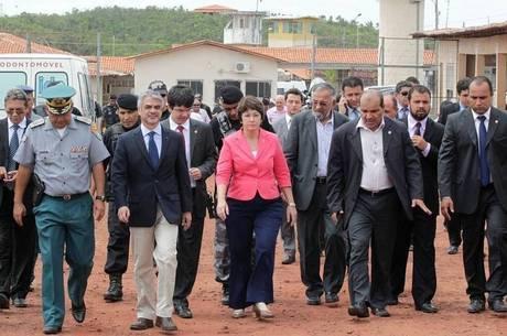 Comitiva do Senado fez visita a Pedrinhas no início de janeiro