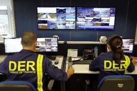 As câmeras filmam as vias 24 horas por dia, sete dias por semana, armazenando dados dos últimos 30 dias automaticamente