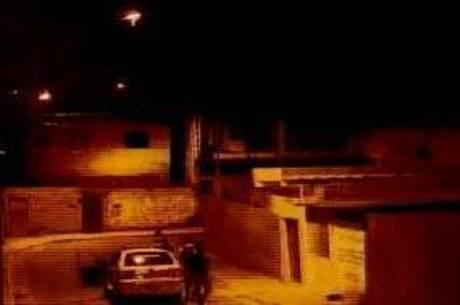 Rua onde o agente foi baleado