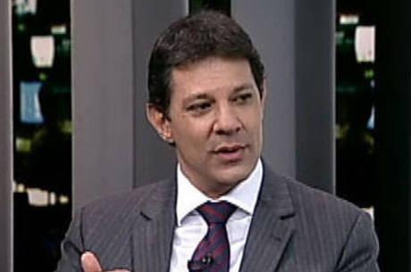 Haddad fez uma avaliação dos avanços da sua gestão em SP
