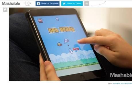 Jogo Flappy Bird recebe cerca de R$ 119,5 mil por dia em anúncios
