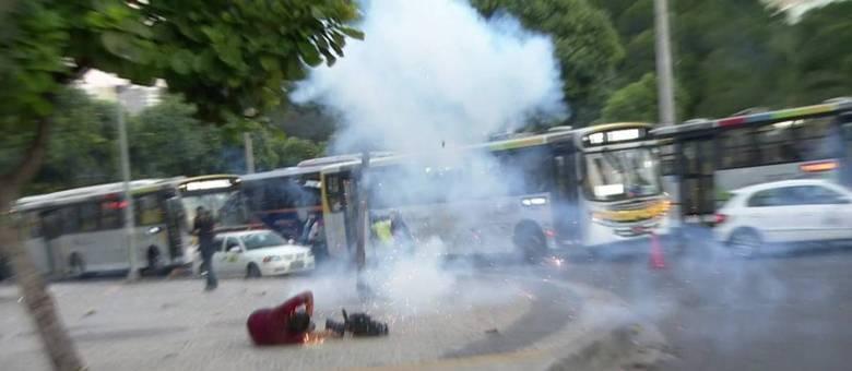 Santiago Andrade foi atingido por um rojão durante manifestação na quinta-feira