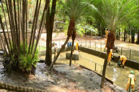 Parque onde corpo da vítima foi encontrado