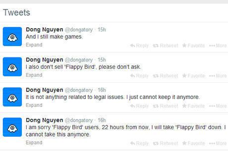 """Criador da """"febre"""" nos smartphones avisou sobre decisão no Twitter"""