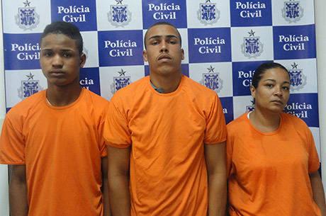 Acusados foram presos na rua Santa Clara