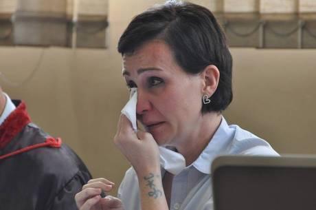 Érika Passarelli chorou durante o júri e disse que é inocente