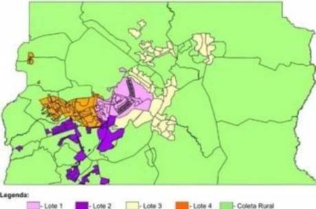 Ceilândia, a maior região administrativa do DF, fica no lote 4 onde a coleta será feita de terça-feira a sábado
