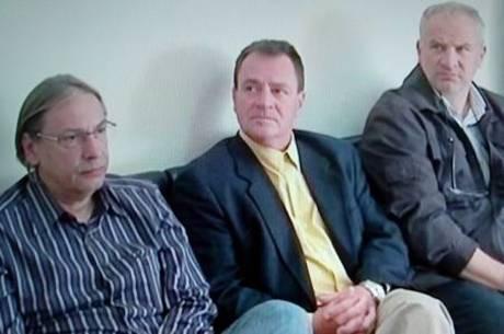 Três médicos foram condenados; dois estão presos, e Sergio Gaspar (centro), foragido
