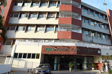 Vítima foi encaminhada para o Hospital Geral do Estado