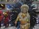 Mulher Filé chamou atenção durante o desfile do Grupo de Acesso, na sexta (28), no Sambódromo, em Rio de Janeiro. Enquanto em outras escolas de samba as musas são malhadas, Yani de Simoni mostrou uma gordurinhas durante a apresentação