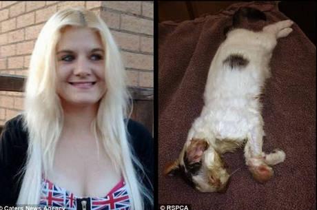 Laura Cunliffe, 23 anos, matou o próprio gato