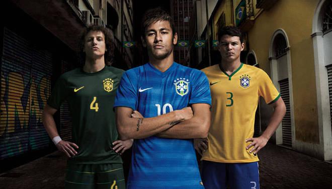 041b782aa4 Anterior A coleção de camisas da seleção brasileiras enfim está completa. A  CBF (Confederação Brasileira