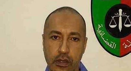 Saadi Gaddafi, filho do ex-ditador líbio Muammar Kadafi