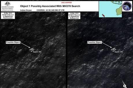 Detritos encontrados no oceano Índico podem pertencer ao avião da Malaysia Airlines