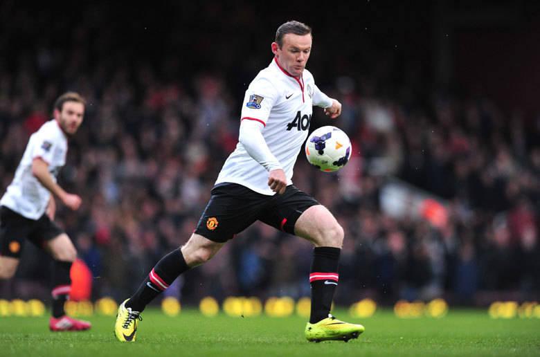 Wayne Rooney (Manchester United) 2013/14 – 8 assistências