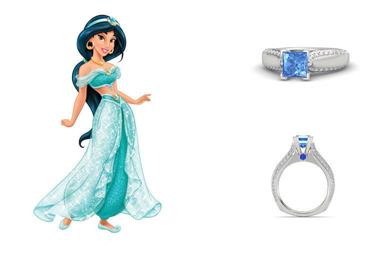 6a9b1c0196dea Anéis de noivado inspirados nas princesas da Disney custam até R  11 mil -  Fotos - R7 Casa e Família