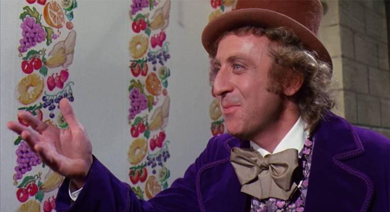 Gene Wilder como Willy Wonka no filme de 1971