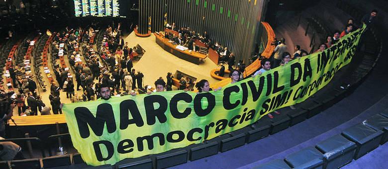 Marco Civil passou mais de dois anos sendo debatido na câmara