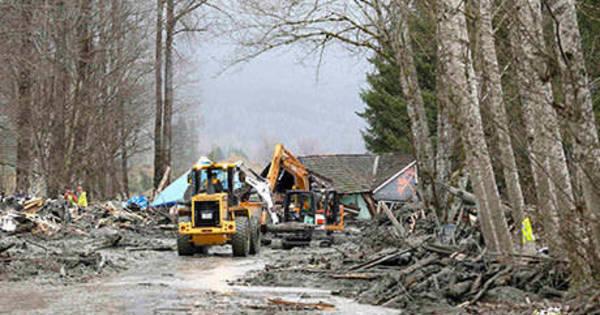 Sobe para 24 o número de mortos em deslizamento de terra nos EUA