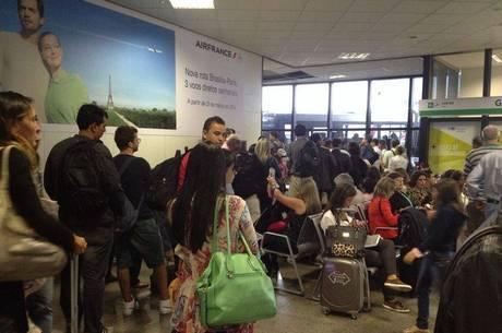 Aeroporto deve receber 1,6 milhão de passageiros durante a Copa