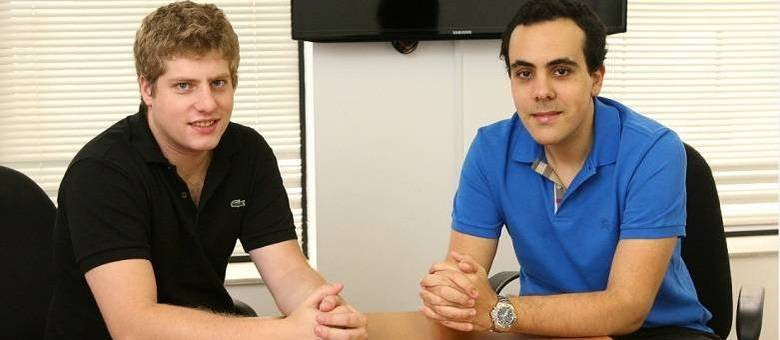 Os fundadores da Betalabs Luan Gabellini (à esquerda) e Felipe Cataldi (à direita)