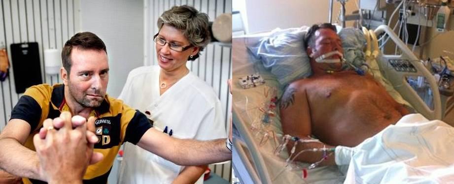 Resultado de imagem para Homem paralisado, incapaz de falar, ouviu médicos discutirem a venda de seus órgãos