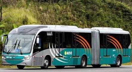 Motorista do ônibus socorreu a passageira
