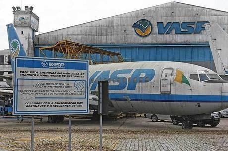 Boeing da massa falida da Vasp foi comprado em leilão