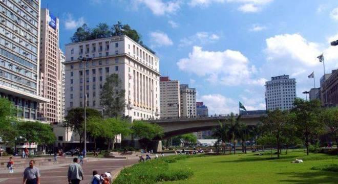 Vale do Anhangabaú, região central da capital, onde principais shows ocorrerão