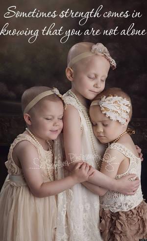 Rylie, Rheann e Ainsley têm 3, 6 e 4 anos