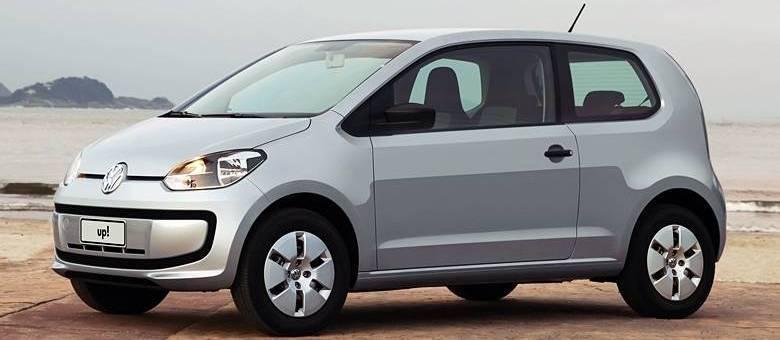Volkswagen Up foi lançado em fevereiro para suceder o Gol G4 como a opção de entrada da montadora no Brasil