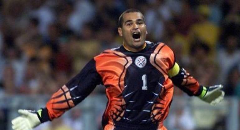Chilavert é um dos maiores jogadores da história do Paraguai