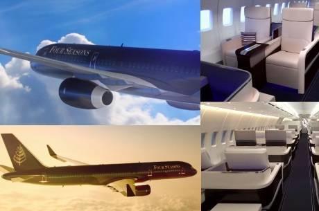 Four Seasons realizará viagens com avião próprio