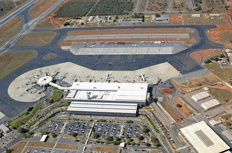 Aeroporto de Brasília tem uma base fixa militar