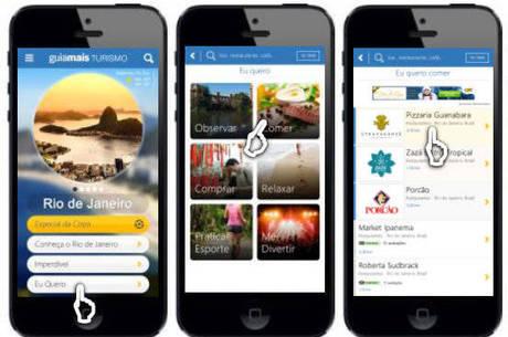 App possui seção especial com sugestões de pontos turísticos